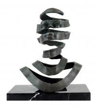 Moderne Kunst Skulpturen abstrakte kunst - signiert milo - moderne skulpturen online kaufen
