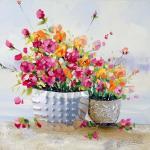 Blumengemälde - Martin Klein - Blumenwandbild - Moderne Kunst kaufen
