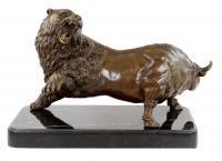 Börsen Skulptur - Bulle & Bär - Börsen Symbol in Bronze - Martin Klein