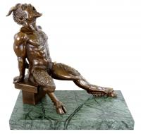 Erotik Akt - Faunfigur - Sexy Teufel - Milo - Erotische Kunst kaufen