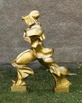 Großskulptur - Einzigartige Formen der Kontinuität im Raum - Umberto Boccioni