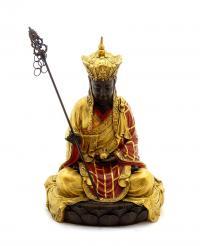 Handbemalte Buddhaskulptur, Milo
