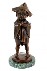 Jugendstilfigur - sign. Lorenzl - Kinderfigur - Kunst online kaufen