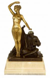 Jugendstilfigur - sign. Theodor Eichler – Skulpturen online kaufen