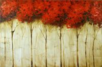 Landschaftsbild - Abstrakte Malerei - Naturgemälde - Martin Klein