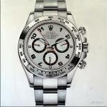 Luxusuhren-Gemälde - Rolex Daytona - Martin Klein