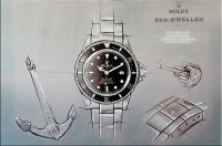 Luxusuhren-Gemälde - Rolex Sea-Dweller - Martin Klein