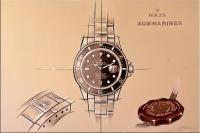 Luxusuhren-Gemälde - Rolex Submariner - Martin Klein