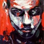 Modernes Wandbild - Porträt - Erotisches Männerportrait - Marin Klein