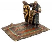 Orientalische Erotik Figur - Wiener Bronze - Bergmann Stempel