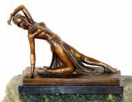 Sinnliche Bronze - Tänzerin, D. H. Chiparus